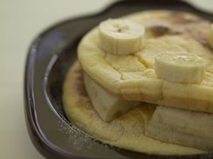 ふわふわリコッタパンケーキ