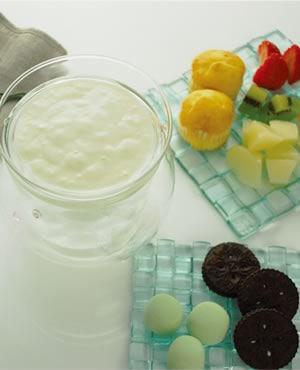 アイスハニーミルクフォンデュ