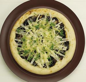 海苔佃煮の和風ピザ