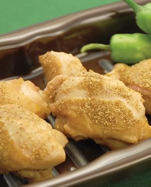 鶏の山椒照り焼き