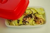 キャベツと鶏肉の塩こぶ炒めの作り方