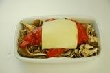 メンチカツのトマトチーズソースの作り方