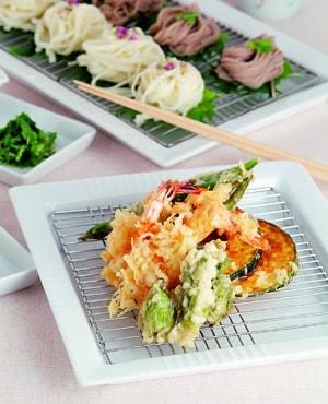 カラっとおいしい天ぷら