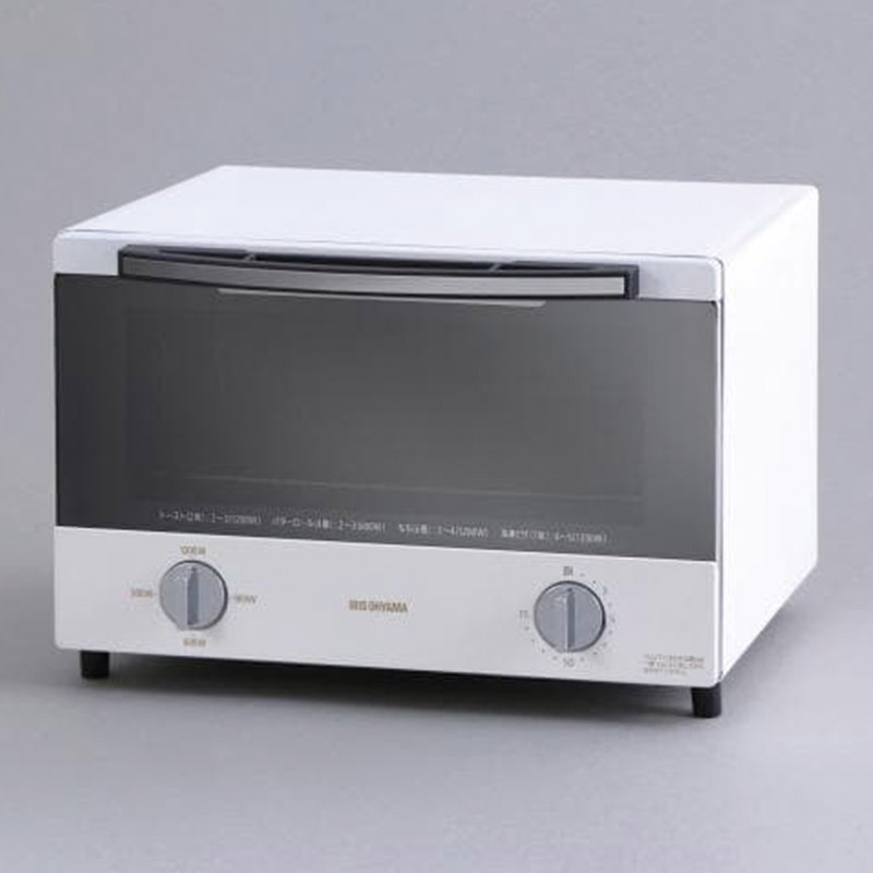 アイリスオーヤマ スチームオーブントースター 4枚焼き ホワイト