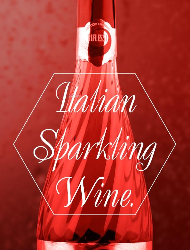 Italian sparkling wine. Imported by Futabaya