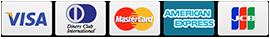 杵の川ではクレジットカード決済が可能です。