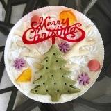 クリスマス・ケーキ2018 トナカイツリーのケーキ