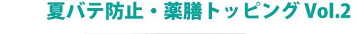 夏バテ防止・薬膳トッピングvol.2