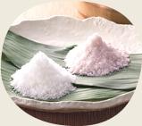 鳴門の塩と梅塩の絶妙なブレンド