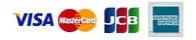 クレジットカード:VISA・MASTER・AMEX・JCB