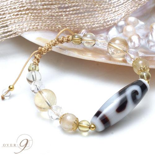 3か月限定☆9種類の天珠から選べるブレス