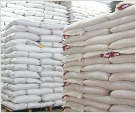また原袋・小袋共に温度・湿度が管理された倉庫で保管し、定期的に検査を行っております。