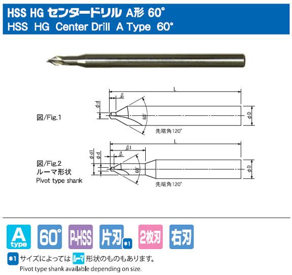HSS HG A型 60°