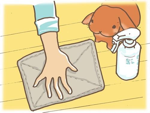 ラパンピード床掃除