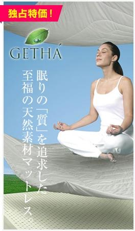 GETHA ̲��Ρּ��פ��ɵᤷ����ʡ��ŷ���Ǻ�ޥåȥ쥹�� ������ʡ�