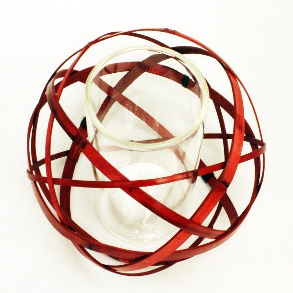 くす玉小花入ガラスセット