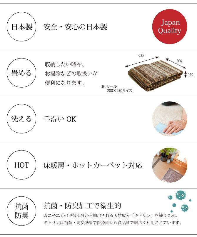 日本製・畳める・洗える・HTO対応・抗菌・防臭