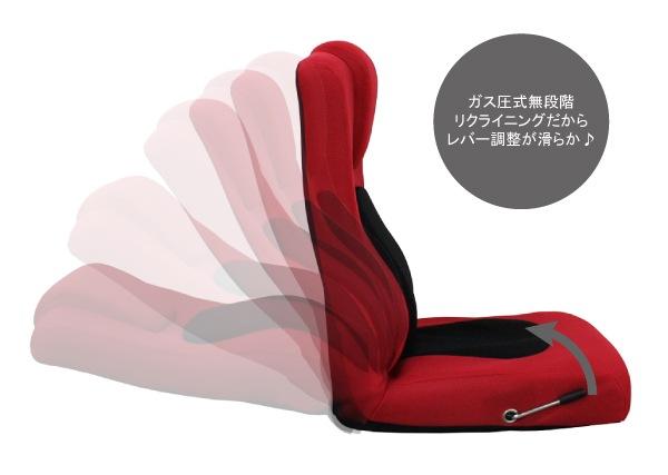 ガス圧式リクライニング座椅子