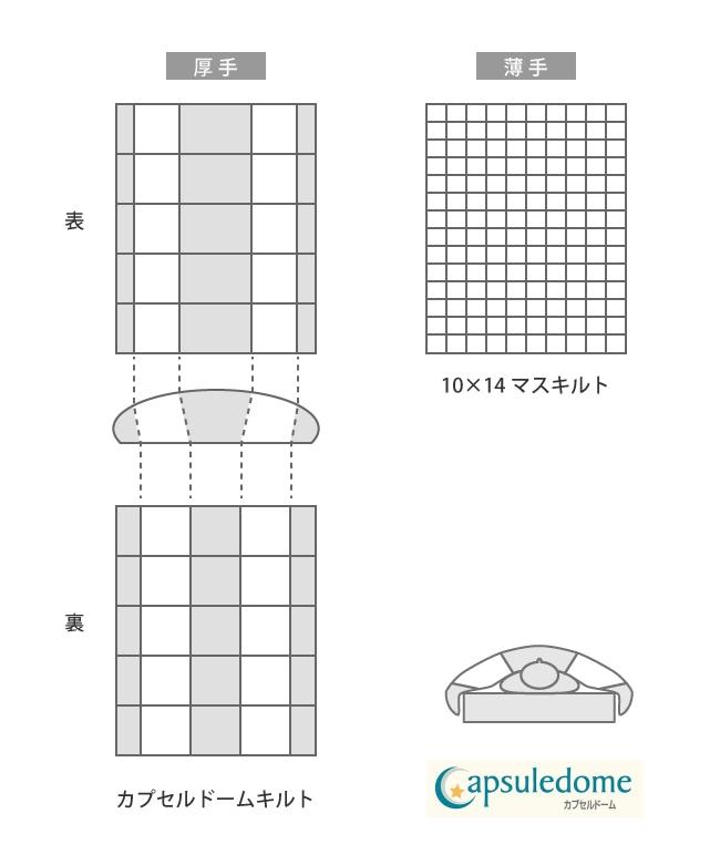 カプセルドーム説明図