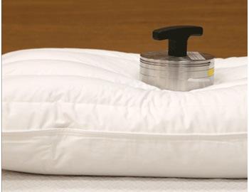 パイプ&フェザー枕