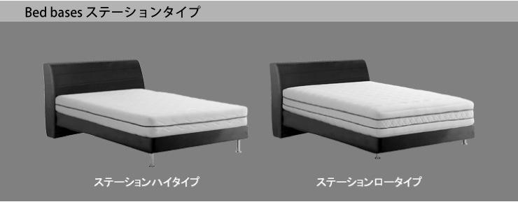 Bed bases ステーションタイプ