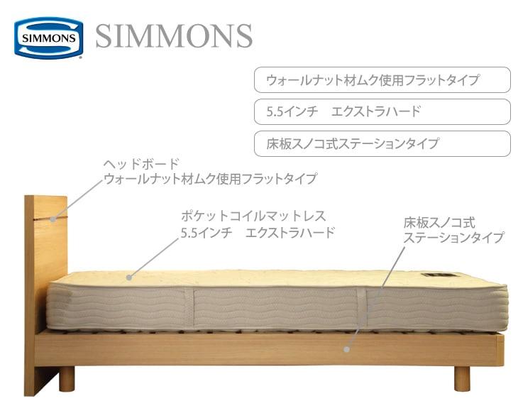 シモンズ セール品