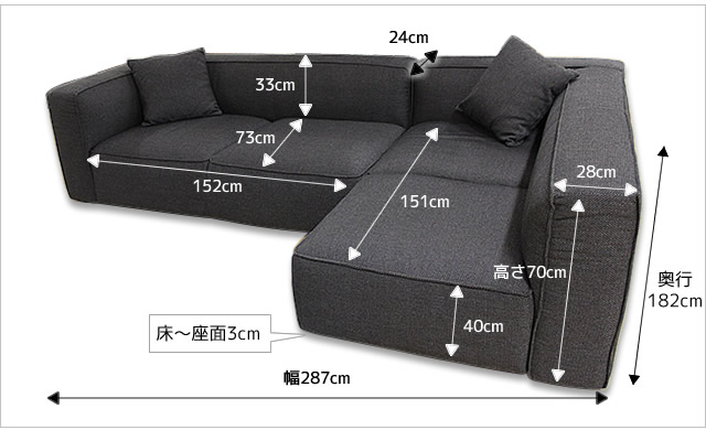 ボリュームのあるデザインでしっかりと身体を支える座り心地。ドイツメーカーならではのしっかりしたつくりです。