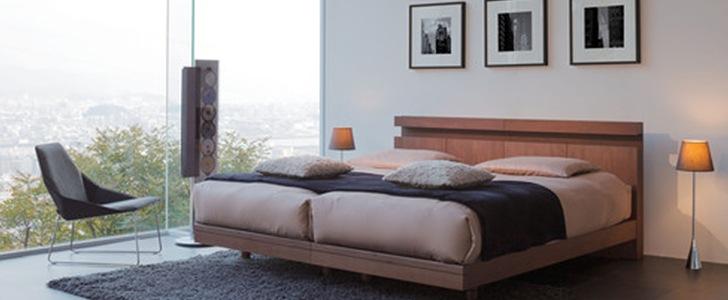 ドリームベッドが彩る寝室の空間