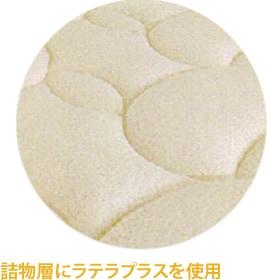 詰物層にラテックス使用