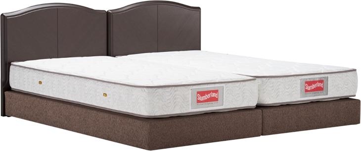 スランバーランドのベッド