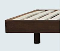 図:継ぎ脚式で、床面高を2段階に調整可能