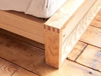 ベッドフレーム縮尺