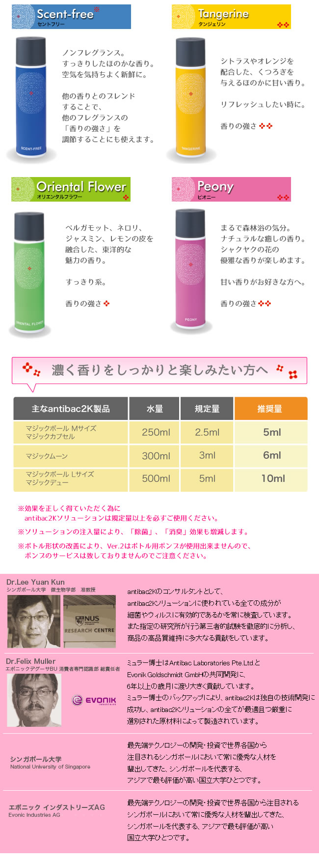 solutionVer.2 FRAGRANCE