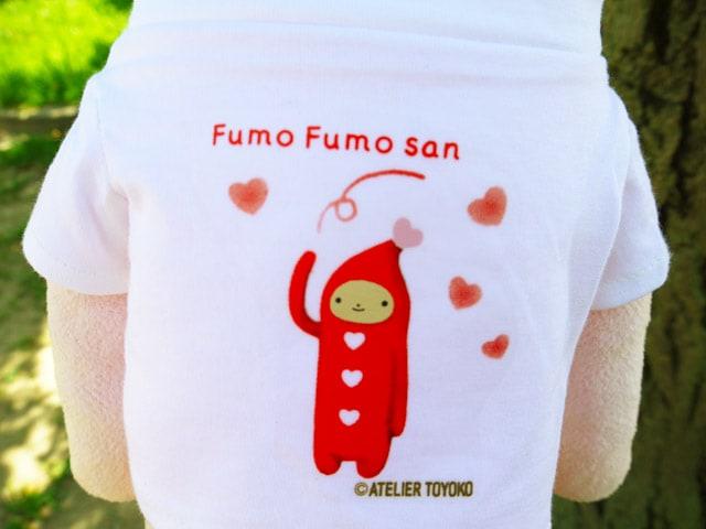 フモフモさん ハートニコラTシャツ
