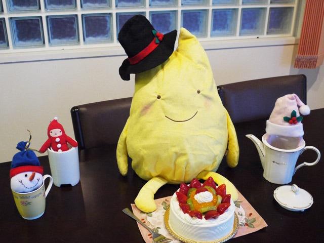 いやし隊とクリスマスケーキ