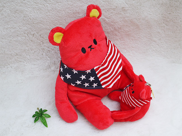 クマカラ・シナダの熊(クマ)のぬいぐるみやストラップ