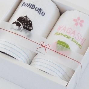 ぶんぶく茶釜×和菓子