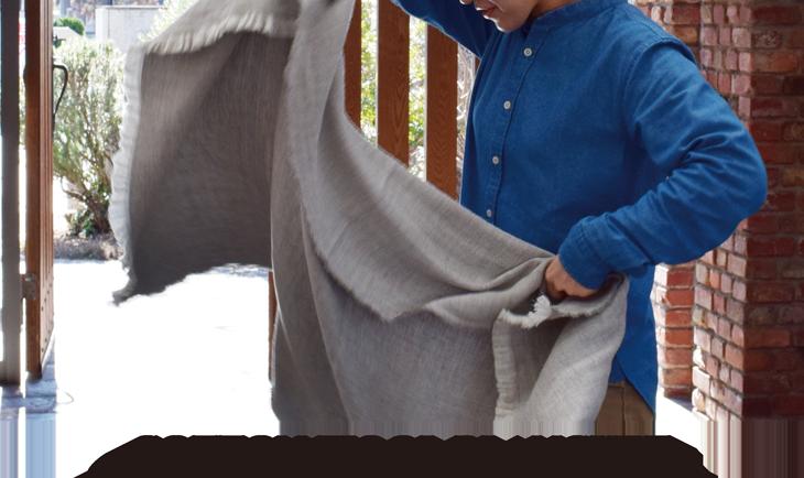 COTTON WOOL BLANCKET