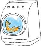 タオルのお洗濯