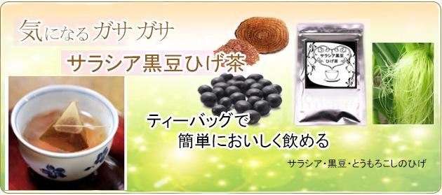 糖化に着目 サラシア黒豆ひげ茶
