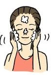 洗顔方法3・糖化着目桜の花びら石鹸桜成分