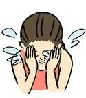 洗顔方法4・糖化着目桜の花びら石鹸