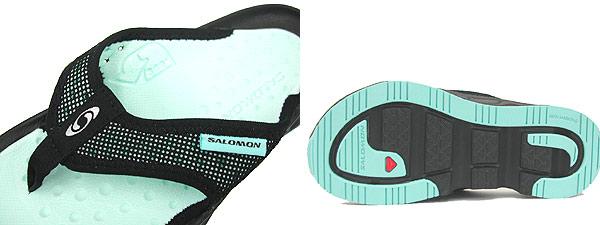 サロモン SALOMON RX BREAK W ブレーク <レディース>黒/水色