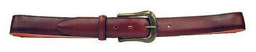 「靴とともにベルトも誂えよう」オーダー ベルト 35mm幅typeA