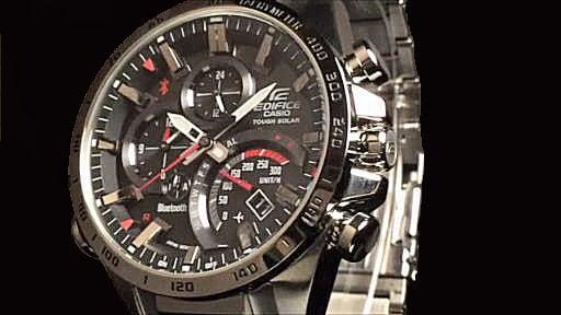 カシオ エディフィス ソーラー腕時計 CASIO EDIFICE EQB-501XD-1AJF