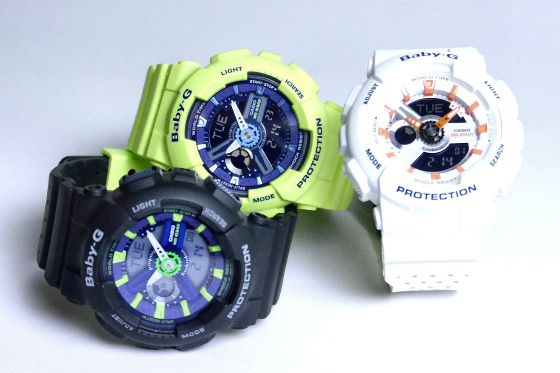 CASIO BABY-G Punching Pattern Series BA-110PP