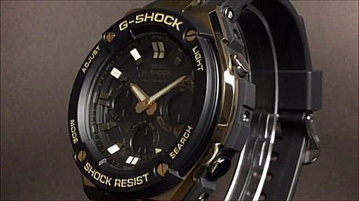 カシオGショックGスチール casio G-SHOCK G-STEEL GST-W100G-1AJF