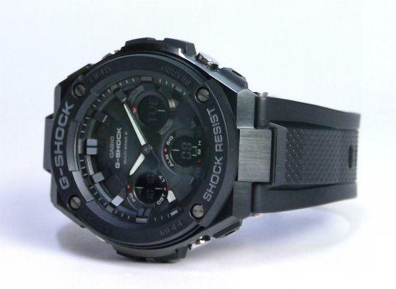 カシオGショック Gスチール ソーラー電波腕時計 CASIO G-SHOCK G-STEEL GST-W100G-1BJF