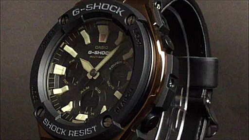 カシオGショックGスチール casio G-SHOCK G-STEEL GST-W120L-1AJF