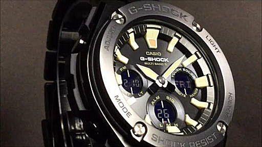 カシオGショックGスチール casio G-SHOCK G-STEEL GST-W130BD-1AJF